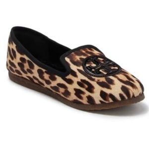 Tory Burch Leopard Billy Loafer